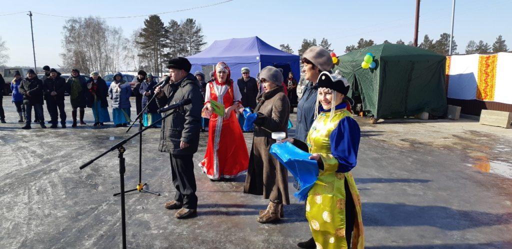 Встреча участников  ХV Республиканских зимних сельских спортивных игры